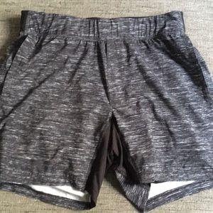 Lululemon athletic men's athletic shorts black XL